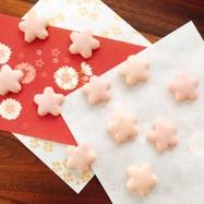 合格祈願☆桜サクサク簡単苺ジャムクッキー