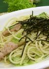 塩だれパスタ(健康食)
