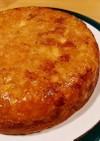 炊飯器で簡単☆林檎ジャムと紅茶のケーキ