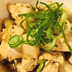 シンプル前菜●鶏肉のみりん&しょう油炒め