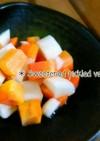 簡単・常備菜~大根とにんじんの甘酢漬け