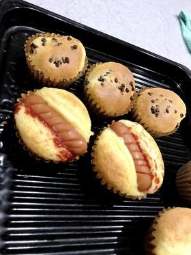 HMで簡単ウインナーパン
