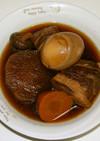 スロークッカーで豚角煮(甘いタイプ)