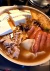 キムチの素を使ったキムチ鍋