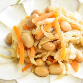糖質制限★大豆入り切干大根の煮物