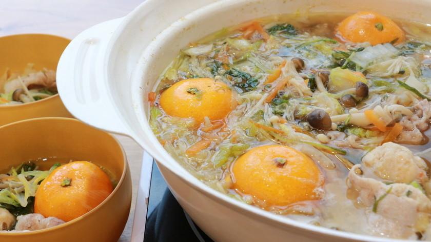 まるごとおいしいミカン鍋