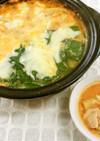 豆乳トマトチーズ鍋