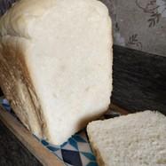 中力粉でふわふわ食パン(HB使用)