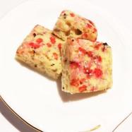 豆腐でヘルシー!バレンタインバナナケーキ