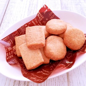 サクッ♡ほろっ〜 米粉入りクッキー♪
