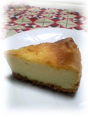 レモン風味のチーズケーキ