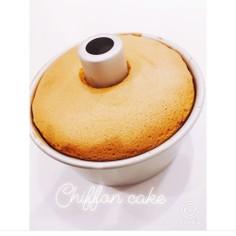 低糖質おからシフォンケーキ