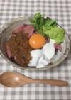 ヨーグルトソースのローストビーフ丼
