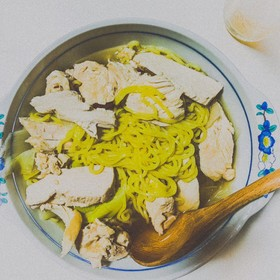 簡単!自家製スープの醤油ラーメン♪