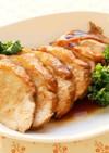 鶏むね肉で簡単やわらかチャーシュー