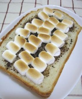 マシュマロコーヒー☆ トースト