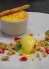 初恋レモンのチーズケーキとアイスクリーム