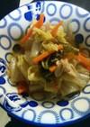 ダイエットにも!白菜とツナの煮物