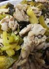 簡単美味・豚肉の高菜炒め