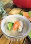 豚肉のキャベツ巻き 餅クリーム煮