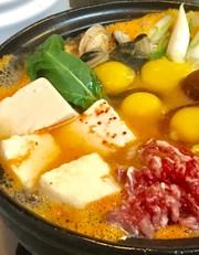 スンドゥブ鍋の作り方!手作りコチュジャンの写真
