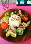 ブッラータのカラフルサラダ