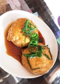 豆腐と鶏ひき肉だけで簡単つくねハンバーグ