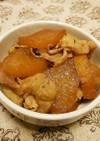簡単 豚バラと大根の甘辛煮