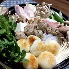 きりたんぽ(だまこ餅)鍋