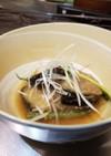 なすびとインゲン豆の簡単煮浸し!