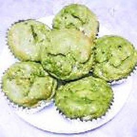 ノンオイル・卵なし☆菜の花バナナマフィン