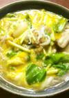 酒粕入り玄米酵素ご飯の雑炊