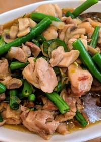 鶏モモ肉のオイスターソースの中華炒め
