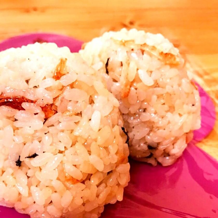 簡単×冷凍保存♪桜海老のおにぎり