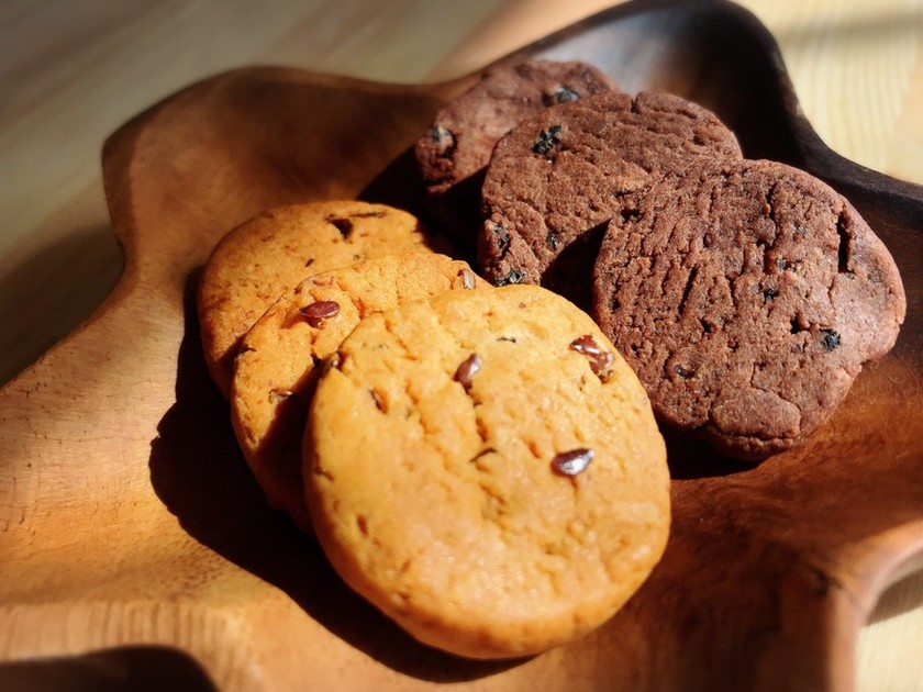 しああせ常備おやつ♡まんまる酒粕クッキー