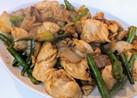 鶏ムネ肉とインゲンの中華炒め