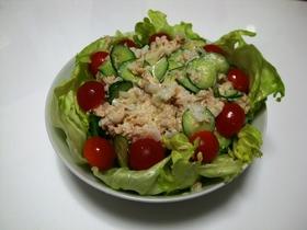 ツナと新玉葱のサラダ