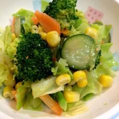 給食のレシピ ブロッコリーのサラダ