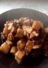 ♪牛肉とこんにゃくのコロコロステーキ♪