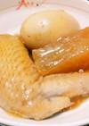 玉子と手羽先、大根の煮物