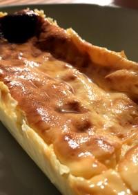 牛乳で作る水切りヨーグルトのチーズケーキ