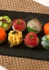 ラップで簡単! 手まり寿司