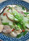 麻油鶏風温麺
