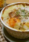 豆腐クリームのチーズを使わないグラタン