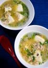 LDL中性脂肪対策!鯖豆腐スープ
