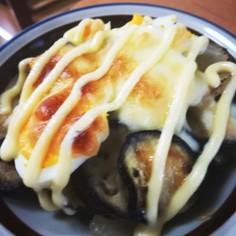 ナスとジャガイモのマヨチーズ焼