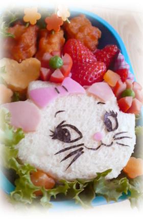 ☆マリーのサンドイッチ(キャラ弁)☆