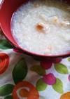 離乳食中期~残りご飯で タラのくず煮雑炊