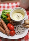 温野菜サラダ♪をHOTチーズマヨソースで