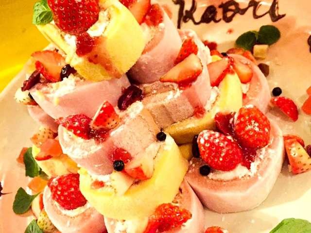 ローソン ロール ケーキ いちご